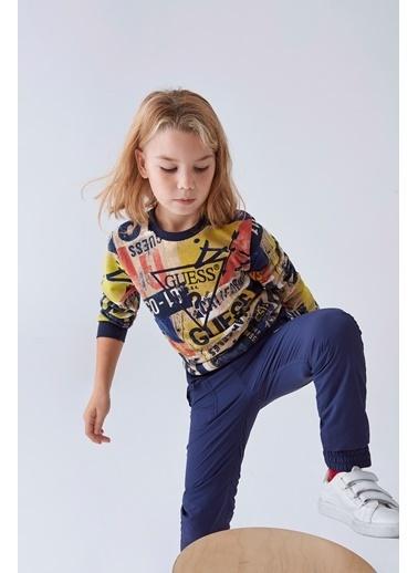 Guess Erkek Çocuk Renkli S-Shirt Renkli